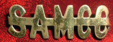 SHOULDER TITLE-WW1 SOUTH AFRICAN MOTOR CYCLE CORPS EAST AFRICA 1916-1918 45MM