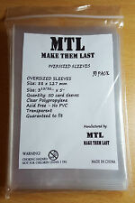 MTL Card Sleeves THICK OSRB: Size 88X127 50PCS PERFECT FIT FOR RUM AND BONES