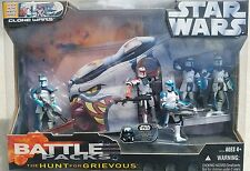 STAR WARS BATTLE PACK THE HUNT FOR GRIEVOUS CLONE WARS ARC TROOPER SET UGH MIP