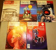 SCIENCE FICTION CHRONICLE MAGAZINE LOT VOLUME 9 1 -11 5 ISSUES VINCENT DI FATE