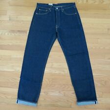 VINTAGE ORIGINAL REPLAY JEANS DENIM REDLINE SELVEDGE 1990s 36X34 MADE ITALY NOS