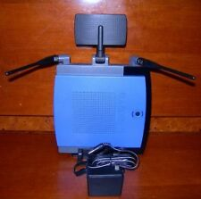 Linksys (WRT300N V1.1) 4-Port GB Wireless-N Router & AC Adapter Bundle For Parts