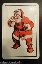 Santa Clause Coca-Cola Ace of Spades Vintage Advertising Playing Card