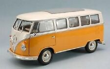 1/18 Welly Volkswagen VW Bulli T1 Bus 1963 Microbus yellow/white-neu in ovp