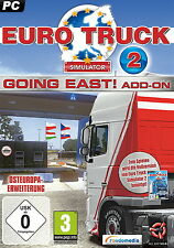 Euro truck simulator 2: going East! (extension) pc neuf bonne DVD BOX