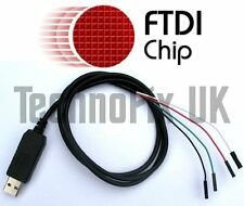 FTDI USB to serial TTL console/debug cable for Raspberry Pi (Windows 8 & 10)