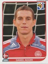 N°356 DANIEL AGGER # DENMARK STICKER PANINI WORLD CUP SOUTH AFRICA 2010