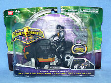 POWER RANGERS MIGHTY MORPHIN 2010 BLACK DINO ZORD + RANGER