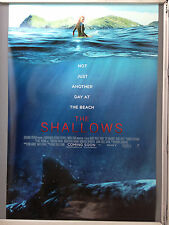 Cinema Poster: SHALLOWS, THE  2016 (One Sheet) Blake Lively Óscar Jaenada