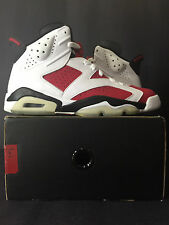 2008 DS NEW NIKE AIR JORDAN VI 6 RETRO CDP CARMINE MEN 7.5 WOMEN 9 INFRARED 7 8