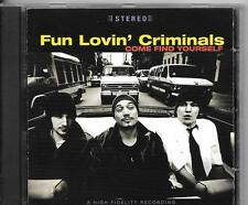 CD ALBUM 15 TITRES--FUN LOVIN' CRIMINALS--COME FIND YOURSELF--1996