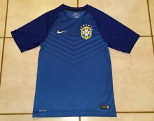 Authentic NIKE Brazil National Team  Soccer Training Jersey Men's Small