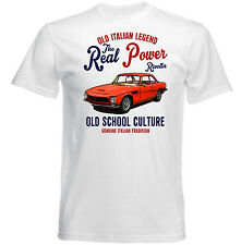 VINTAGE ITALIAN CAR ISO RIVOLTA - NEW COTTON T-SHIRT