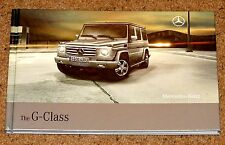 2008 MERCEDES BENZ G-CLASS Hardback Sales Brochure inc G55 AMG - New OId Stock!!
