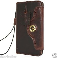 genuine vintage leather Case for apple iphone 6s book wallet cover Retro 6 s au
