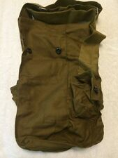 Vintage soviet USSR Russian Gp-5 Gas Mask Canvas Carrier Bag Military Army