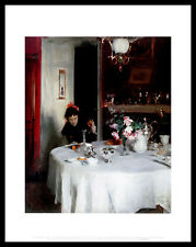 John Singer Sargent the break casi Table póster imagen son impresiones artísticas & Marco 36x28cm