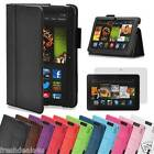 "Leather Smart Case Cover Stand for New Amazon Kindle Fire HD 7"" HDX 7"" HD 6 6"""