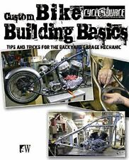 "Custom Bike Building Basics Tips and Tricks ""NEW BOOK"" MOTOCYCLE"