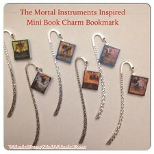 Handmade The Mortal Instruments Mini Book Charm Bookmark Geekery Gift