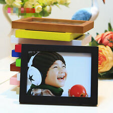 "Hot Style A4/5""/6""/7""/8"" Multi-size Room Decor Wooden Picture Photo Wall Frame"