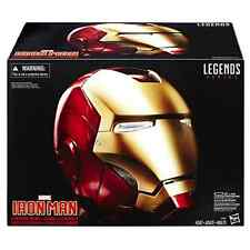Iron Man Electronic Helmet Marvel Legends Detachable Magnetized Face Plate Toys