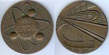 Médaille de table - CITREM-SGI-CITRA France 1950-1970 d=81mm bronze poids 283 gr