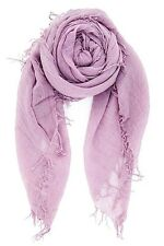CHAN LUU NEW Light Purple Beautiful CASHMERE & SILK SOFT SCARF Shawl Wrap