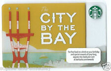 2012 Starbucks Card - City By The Bay - San Francisco, Sutro Tower