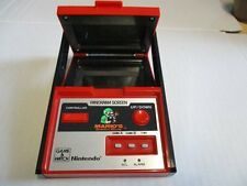NINTENDO Game & Watch Telespiel Super Mario´s Bombs Away Panorama Screen 1983