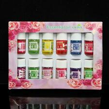 12Pcs/Set  Essential Oils Aromatherapy Oil Gift 3ml Pure Relax Plant Therapeutic
