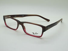 NEW Authentic Ray Ban RB 5169 5541 Brown Horn-Burgundy 52mm RX Eyeglasses