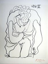 CLASSIC NUDE PABLO PICASSO HAND SIGNED LITHOGRAPH  * LES DEJEUNERS *  1962 W/COA