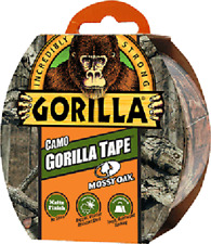 "Gorilla Tape Camo 1.88""x9yd Roll,Mossy Oak® Break-Up Country™ Pattern, Matte"