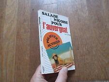 S R LAVIGNE L AUVERGNAT salade nicoise pour  guy authier 1977