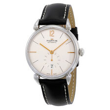 Fortis Mens Terrestis Silver Opalined Automatic Swiss Made Watch 900.20.32 L01