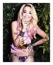 RITA ORA AUTOGRAPHED SIGNED A4 PP POSTER PHOTO 3