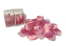 Rose Petals 100 pcs ~ MAUVE DUSTY PINK ~ Silk Wedding Flowers Party Centerpieces