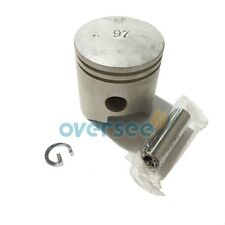 PISTON 6E7-11631-00-97 for fitting Yamaha Outboard Engine Motor parts,STD 15HP
