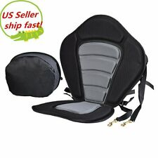 Deluxe Adjustable Safe Padded Kayak Seat with Detachable Back Pack SHIPFREE TOP!