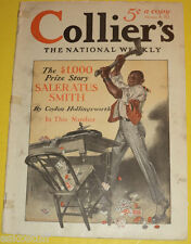 Colliers Magazine 1915 Anti-Gambling cover F. X. Leyendecker Great Picture See!