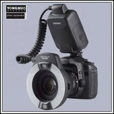 Yongnuo TTL Macro Ring Flash Light YN-14EX for Canon DSLR with 4 Adapter Rings