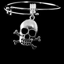Skull bracelet  Pirate bracelet  Blackbeard  Skull & Crossbones