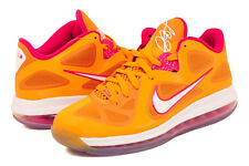 Nike Air Max LEBRON IX 9 Low FLORIDIAN ORANGE CHERRY PINK WHITE 510811-800 SZ 11