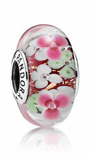 Authentic Pandora Charms Bead Flowers Garden 791652