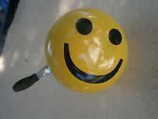 """Fahrradklingel/ Glocke Smiley """"Maxi Ding Dong"""" 2 Klang Ø 80mm"""