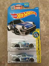 Hot Wheels Lot Of 2 Porsche 934 Turbo RSR Falken Silver Blue #181