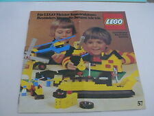 Lego catalogue de 1977 / catalog from 1977 ( 98761-D )