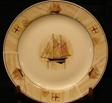 Saling Boat By Winpat DINNER PLATE 10 1/2""