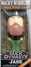 Wacky Wobbler Duck Dynasty Jase talking figure Funko 035617